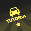 Car insignia 'Tutoria' in Bridge Constructor Playground