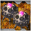 Metal Base in Crimzon Clover WORLD IGNITION
