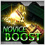 Novice-BOOST TRUE COMPLETE in Crimzon Clover WORLD IGNITION
