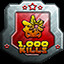 Kill 1,000 Monsters in Sweezy Gunner