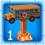 Bus Driver Bronze in School Bus Fun