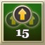 Level 15 in Heroes  Legends: Conquerors of Kolhar