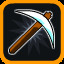 Weapon Unlocked: Pickaxe! in Vertical Drop Heroes HD