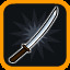 Weapon Unlocked: Katana! in Vertical Drop Heroes HD
