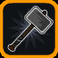 Weapon Unlocked: Warhammer! in Vertical Drop Heroes HD