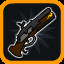 Weapon Unlocked: Musket Gun! in Vertical Drop Heroes HD