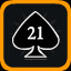 Blackjack! in Vertical Drop Heroes HD