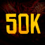 50000 in Double Dragon Trilogy