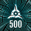 Reach 500 in The Collider