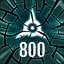 Reach 800 in The Collider