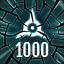 Reach 1000 in The Collider