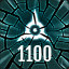 Reach 1100 in The Collider
