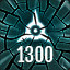 Reach 1300 in The Collider