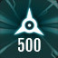 Perfect 500 in The Collider