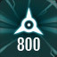 Perfect 800 in The Collider