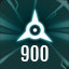 Perfect 900 in The Collider