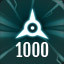 Perfect 1000 in The Collider