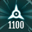 Perfect 1100 in The Collider