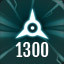 Perfect 1300 in The Collider