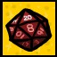 The D20 in The Binding of Isaac