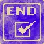 The End Completed in They Bleed Pixels