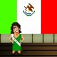Miss Mexico in Fist Puncher