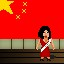 Miss China in Fist Puncher