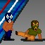 De Capitan Low Blow in Fist Puncher