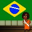 Miss Brazil in Fist Puncher