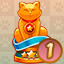 Champion Level 1 in Let the Cat in