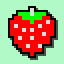 Strawberry in Arcade Game Series: PAC-MAN