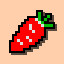 Carrot in Arcade Game Series: Dig Dug