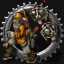 Delivery service in Factorio
