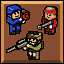 Bullets with Friends in 8-Bit Armies