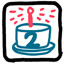 Happy Birthday Two Hues in Drawful 2