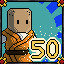 50 Monk in Adventurer Manager