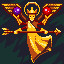 Golden Goddess in TowerFall Ascension