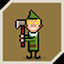 Little Elf in Timberman