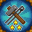 Crafting +3 in Knights of Pen and Paper 2