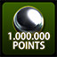 Global - 1 Million Points in Zaccaria Pinball