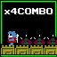 Critter Combo in Cosmic Cavern 3671