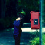 Hanging on the Telephone in A Date in the Park