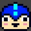 Blue Helmet in Giga Girl