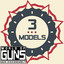 3 guns in World of Guns: Gun Disassembly