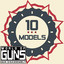 10 guns in World of Guns: Gun Disassembly