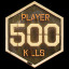 Kill 500 Players in World Of Undead