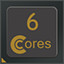 6 CPU Cores in CPUCores :: Maximize Your FPS