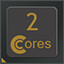 2 CPU Cores in CPUCores :: Maximize Your FPS
