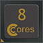 8 CPU Cores in CPUCores :: Maximize Your FPS