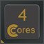 4 CPU Cores in CPUCores :: Maximize Your FPS
